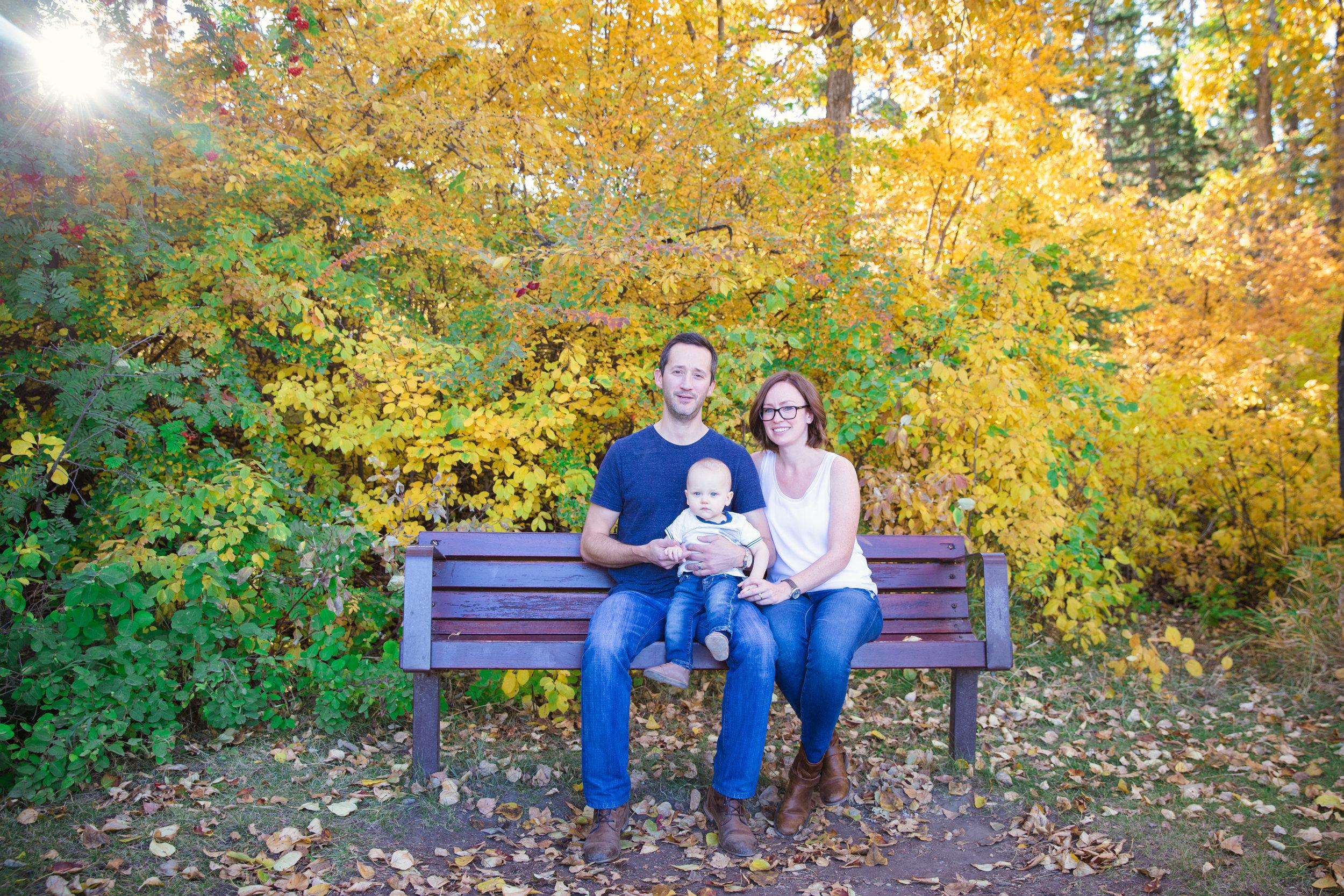 Fall Photoshoot - Edworthy Park - Calgary Photographer