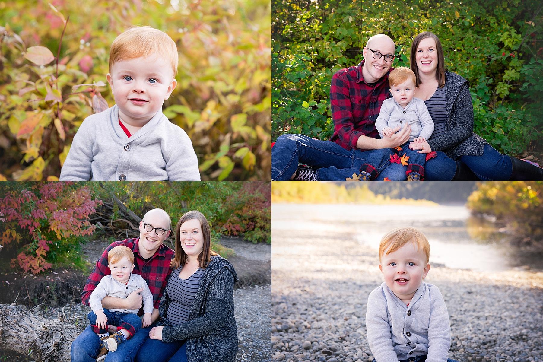 Calgary Fall Mini Session - Edworthy Park. Calgary Family Photographer. Milashka Photography