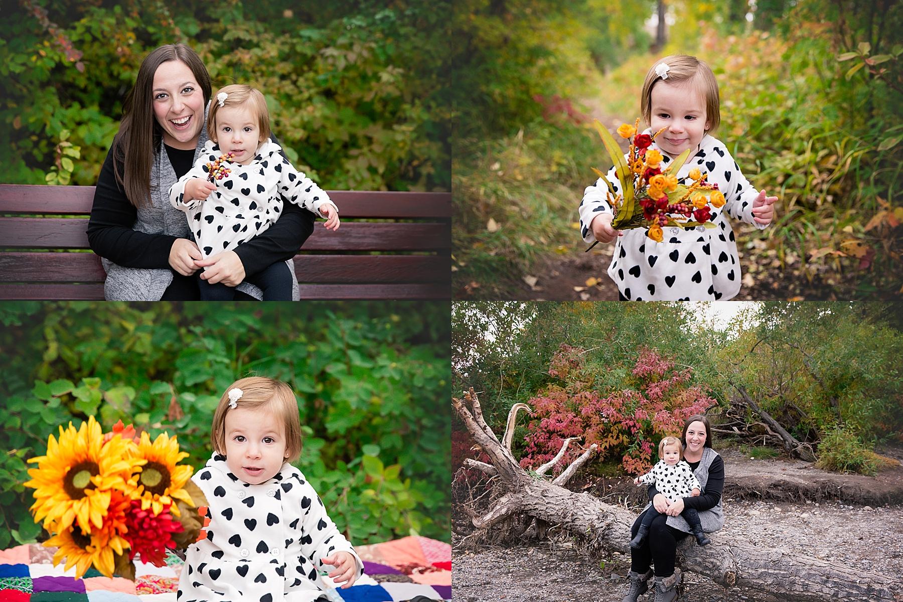 Calgary Fall Mini Session - Edworthy Park. Calgary Family Photographer - Milashka photography