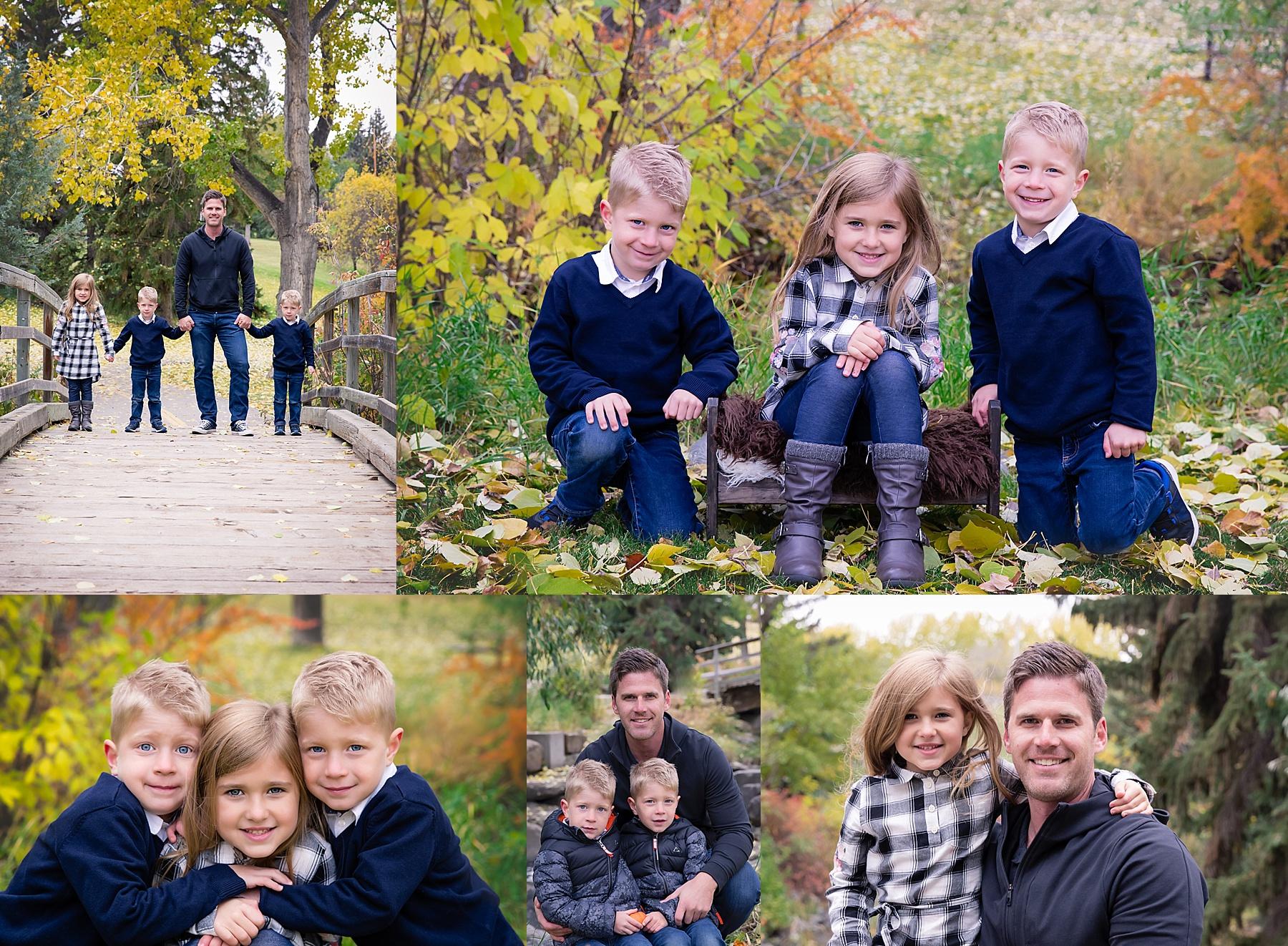 Calgary Fall Mini Session - Confederation Park. Calgary Family Photographer. Milashka Photography