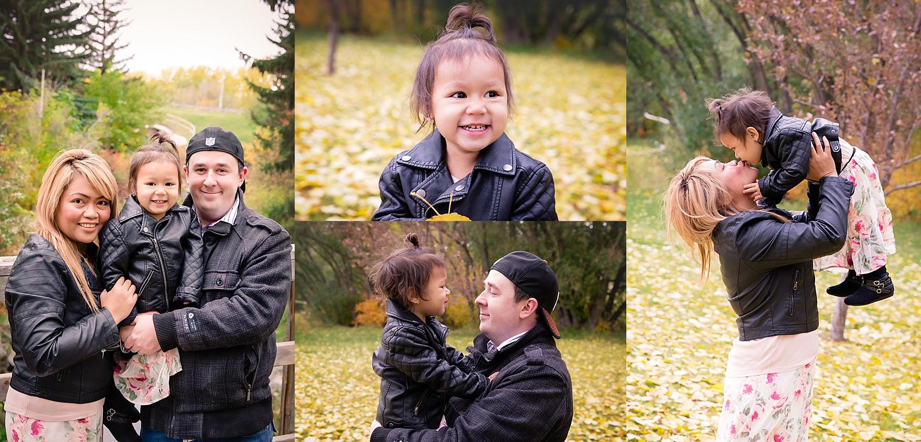 Calgary Fall Mini Session - Confederation Park. Calgary Family Photographer - Milashka Photography