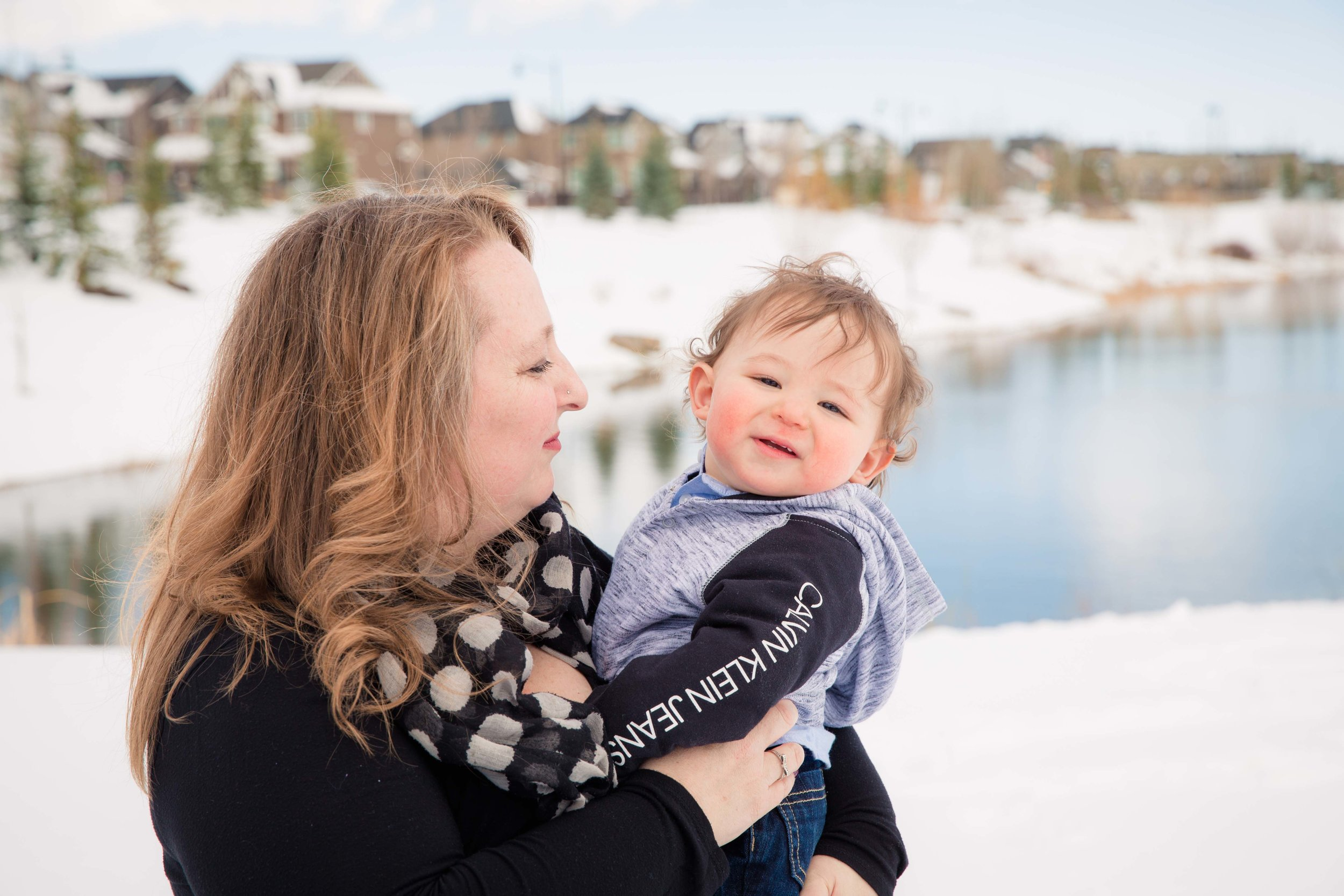 Mother and son. Calgary family photographer - Milashka photography