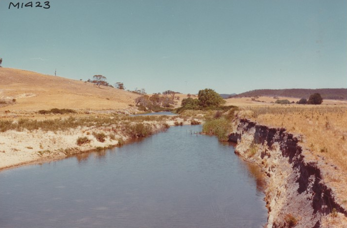 Before - Mulloon Creek upstream of Peter's Pond (1977)