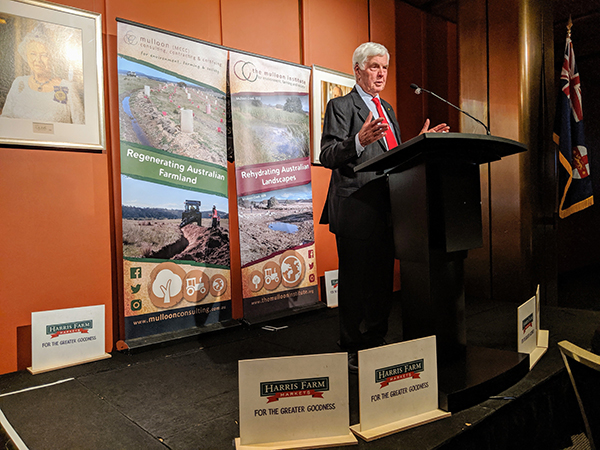 Major General Michael Jeffery presents the Tony Coote AM Memorial Lecture