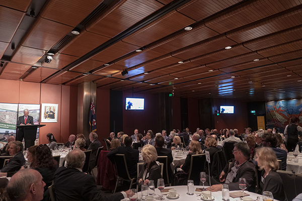 Attendees at Parliament House NSW