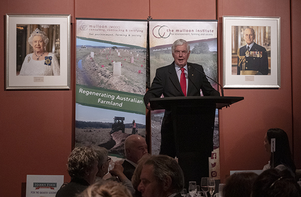 Patron of The Mulloon Institute, Major General Michael Jeffery