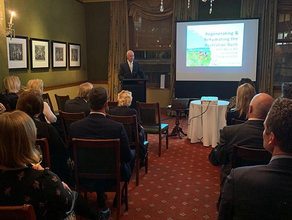 Gary Nairn AO addresses members