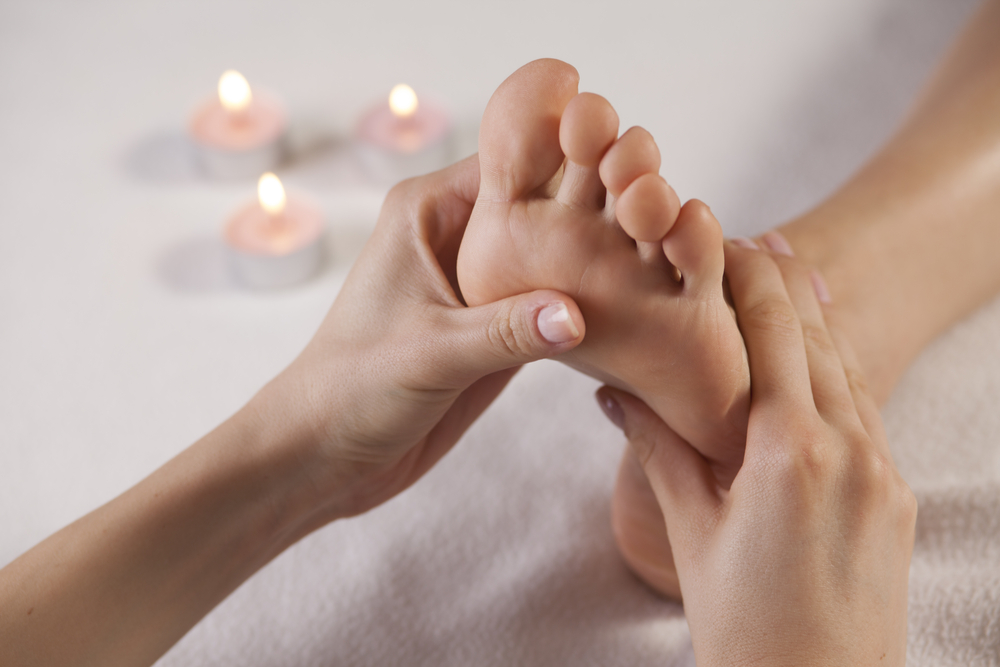 Reflexology treatment at Perfection Skin Clinic in Norwich