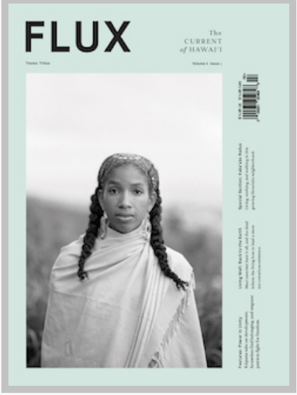- The Pōpolo Project is featured in volume 8, issue 2 of Flux Hawaii magazine, where artist Nicole Maileen Woo graces the cover in a stunning portrait captured by Chris Rohrer. Inside, through a series of portraits, we share about our collective and individual processes for exploring Black identities in Hawai'i via the Pōpolo Project.