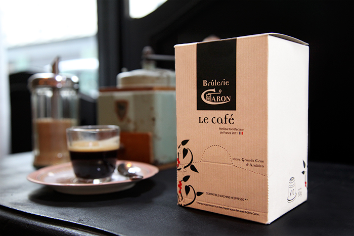 Passarito à manger : café Caron