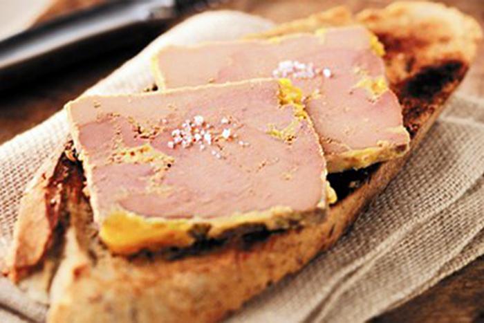 Passarito à manger : foie gras Biraben