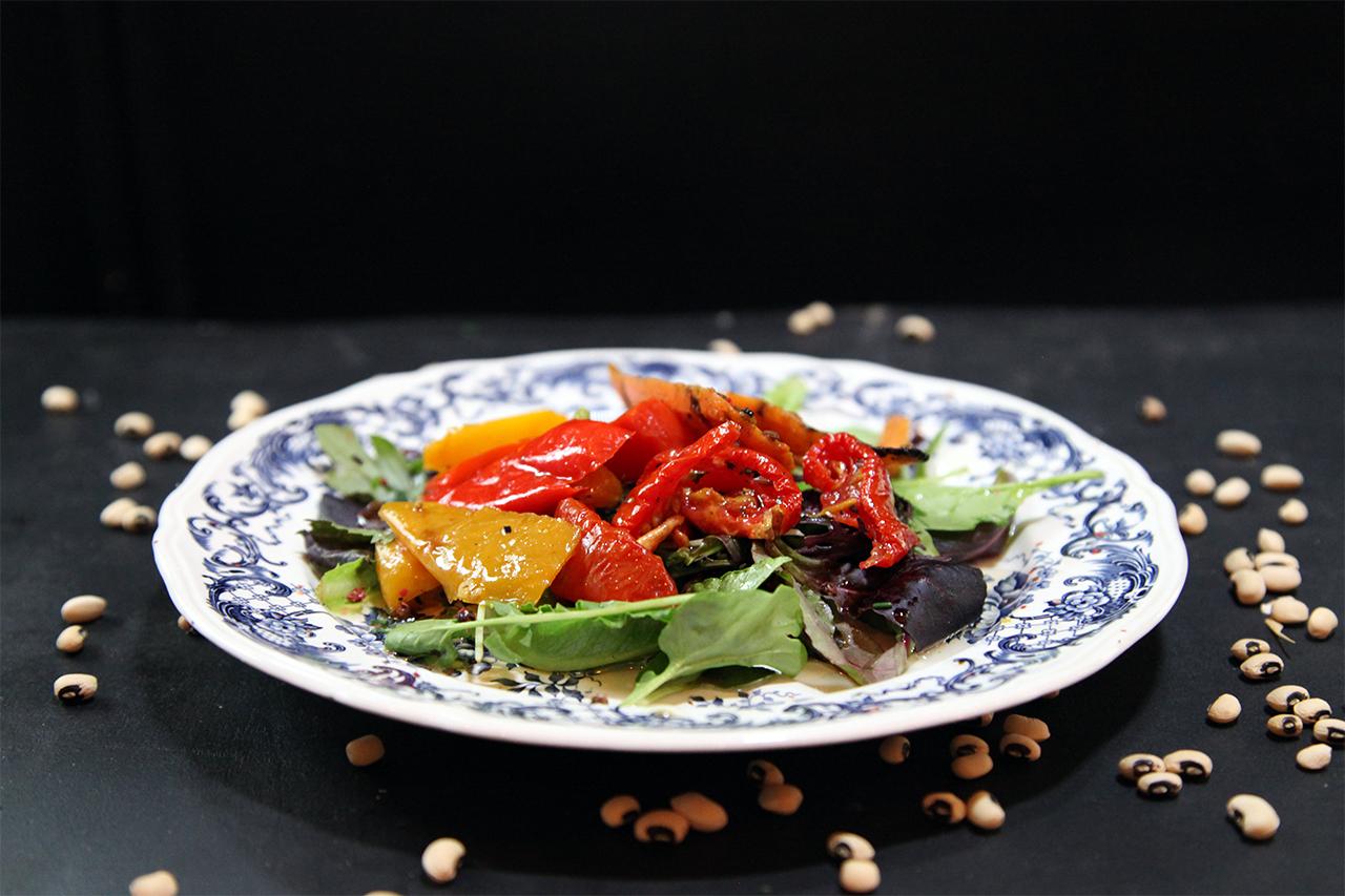 Dentada de légumes marinés