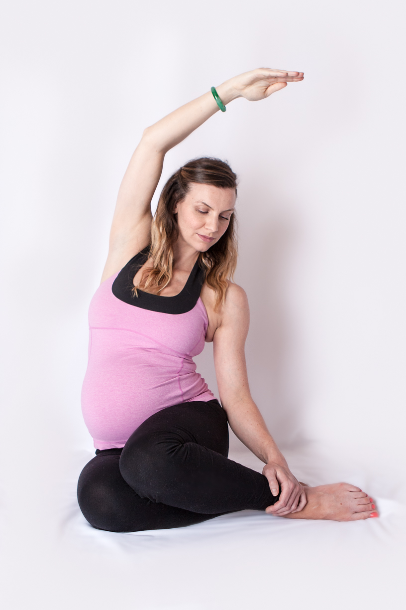 Mermaid stretch; is this the best stretch ever during pregnancy?