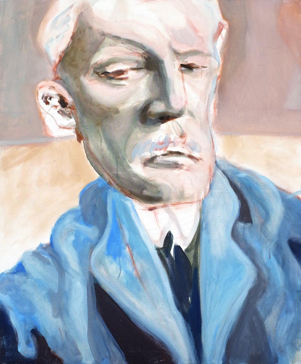 Nouvelle apparition d'Edouard Munch // Format 73 X 60 cm