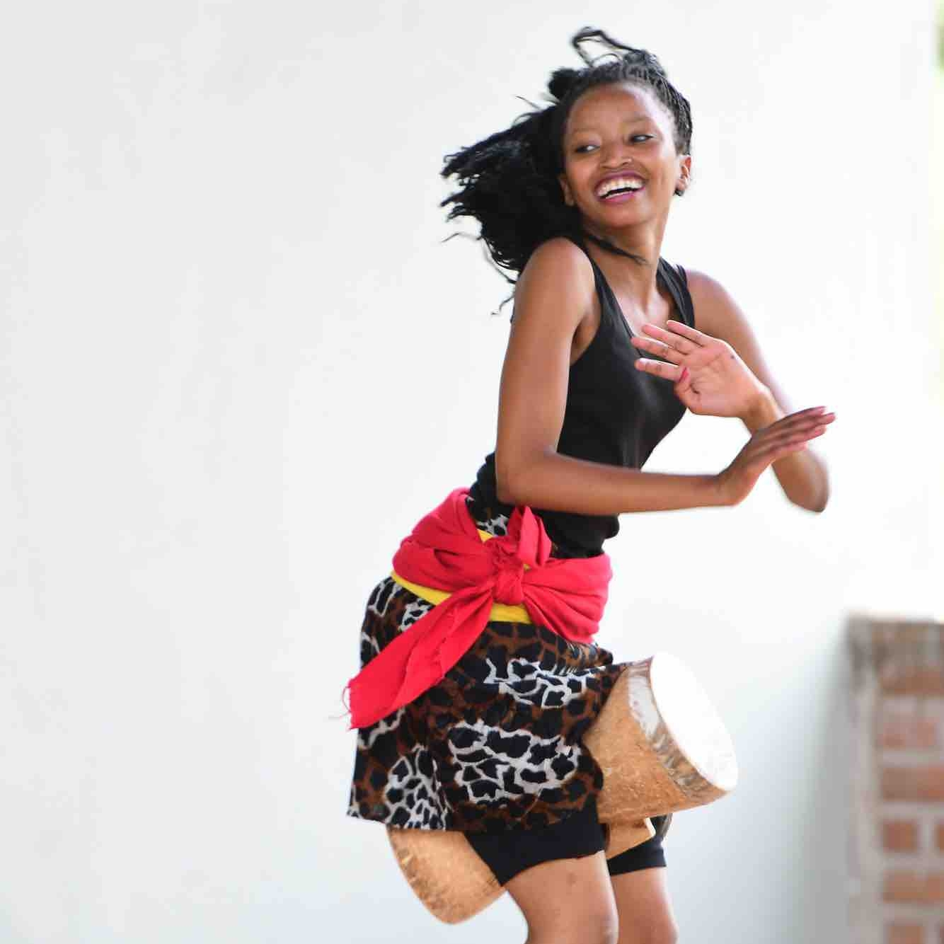 REHEMA NDIMIRA - Rehema began dancing while studying at Uraki secondary school where she achieved a certificate in music. Before joining CAC she performed with the Makumira University Music Department. As well as dancing she teaches music theory at Uraki Secondary. Her highlight with CAC has been performing at Sauti za Busara in 2017 and 2018.