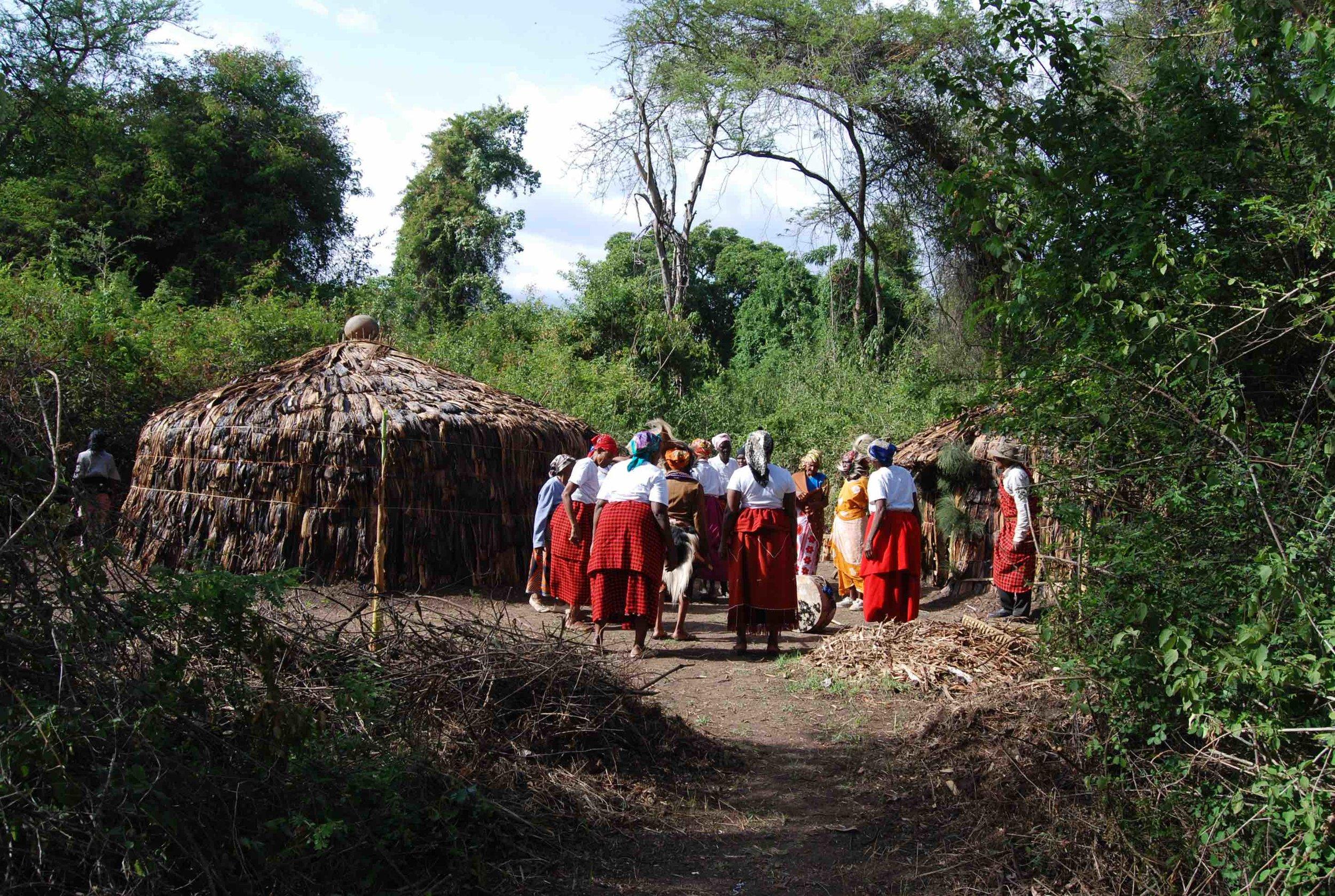 the meru mamas who constructed the meru bomas