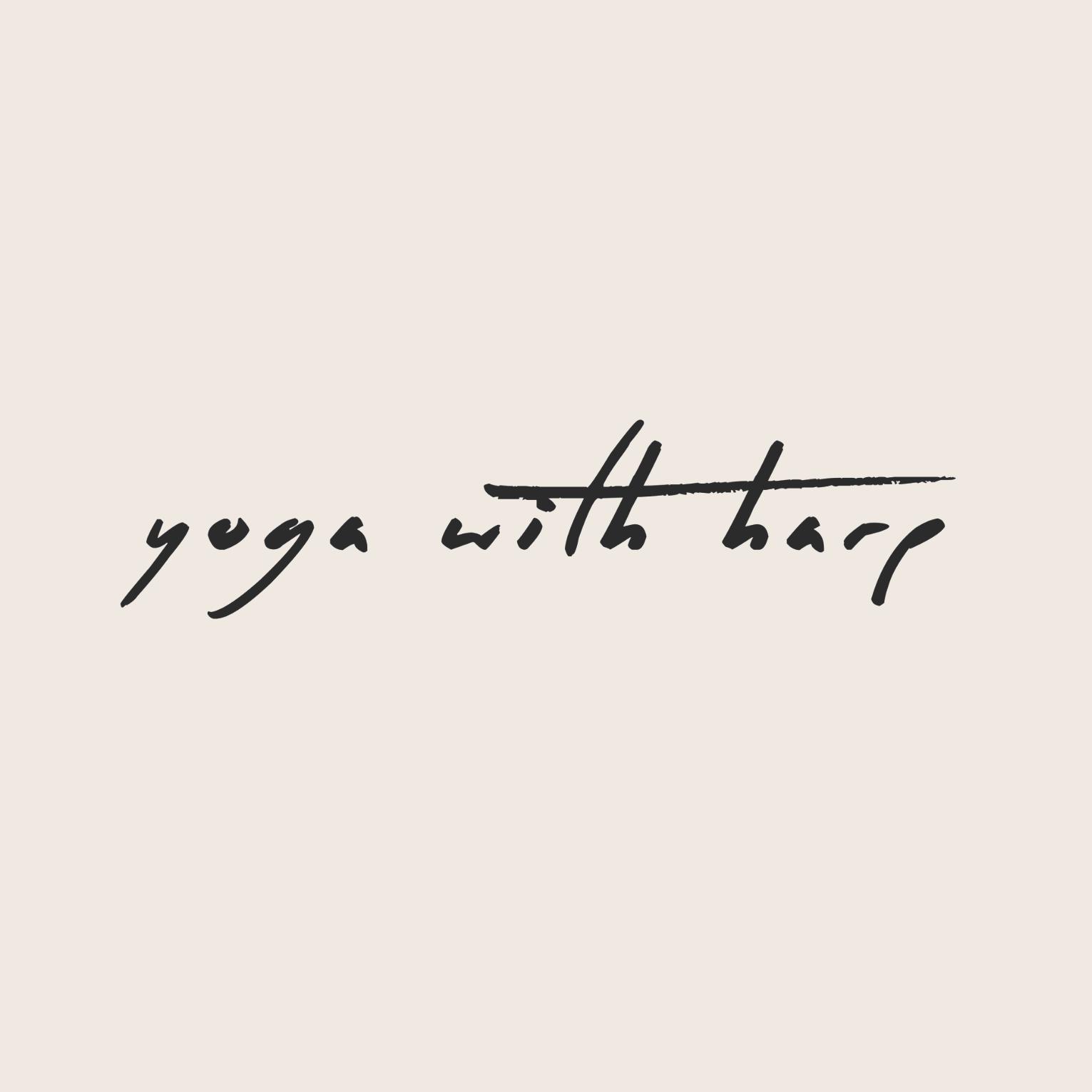 <p>Yoga with Harp</p>
