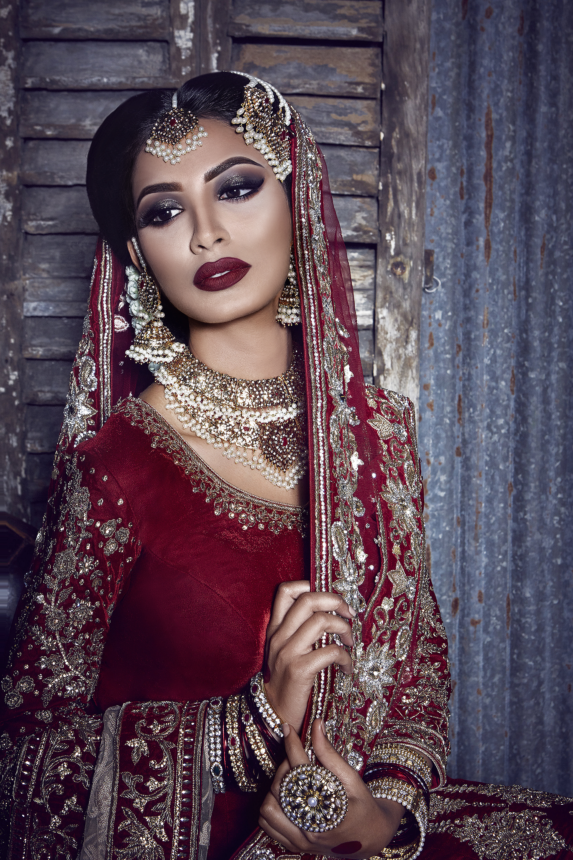 Indian Bridal Necklace Jewellery Set