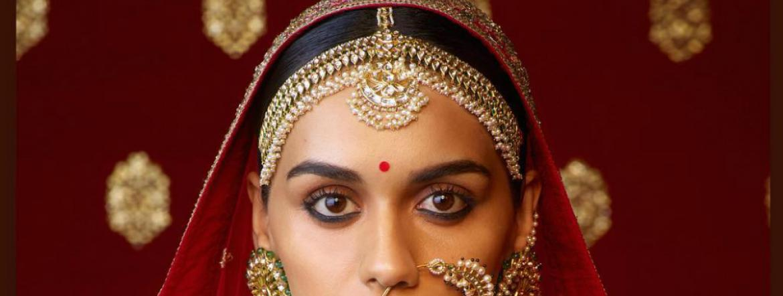 Indian Matha Patti Padmavati Headpiece Bollywood Bridal