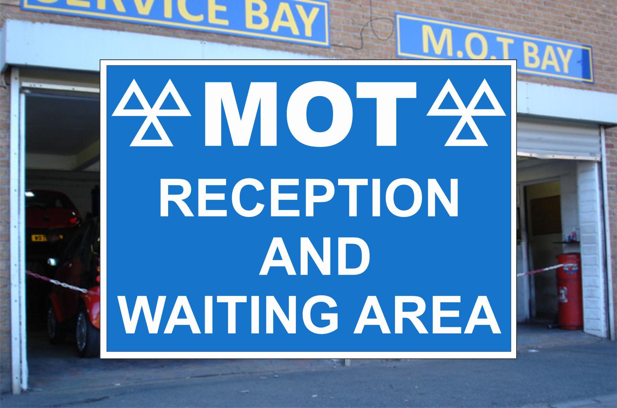 Vehicle & Garage Forecourt Sign