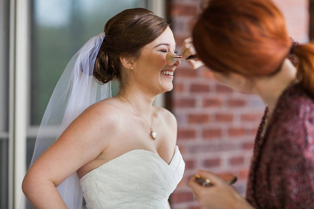 I can't say enough about my experience with Jennifer Abercrombie during our wedding. I loved getting to know her during the run through and she was so go with the flow on our day! We got a late start but she caught us up to make sure the I was ready on time and even stayed to do touch ups after the first look with my daddy.