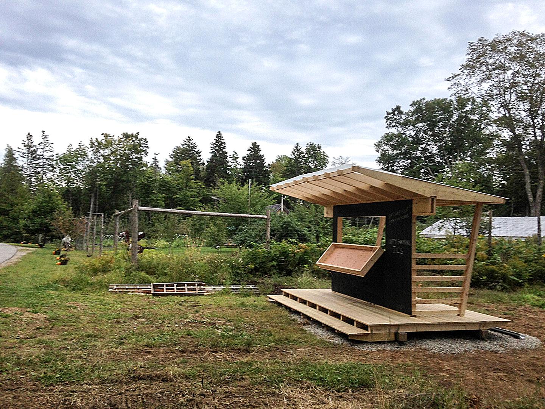 Islesboro Island School Farmstand - 2013