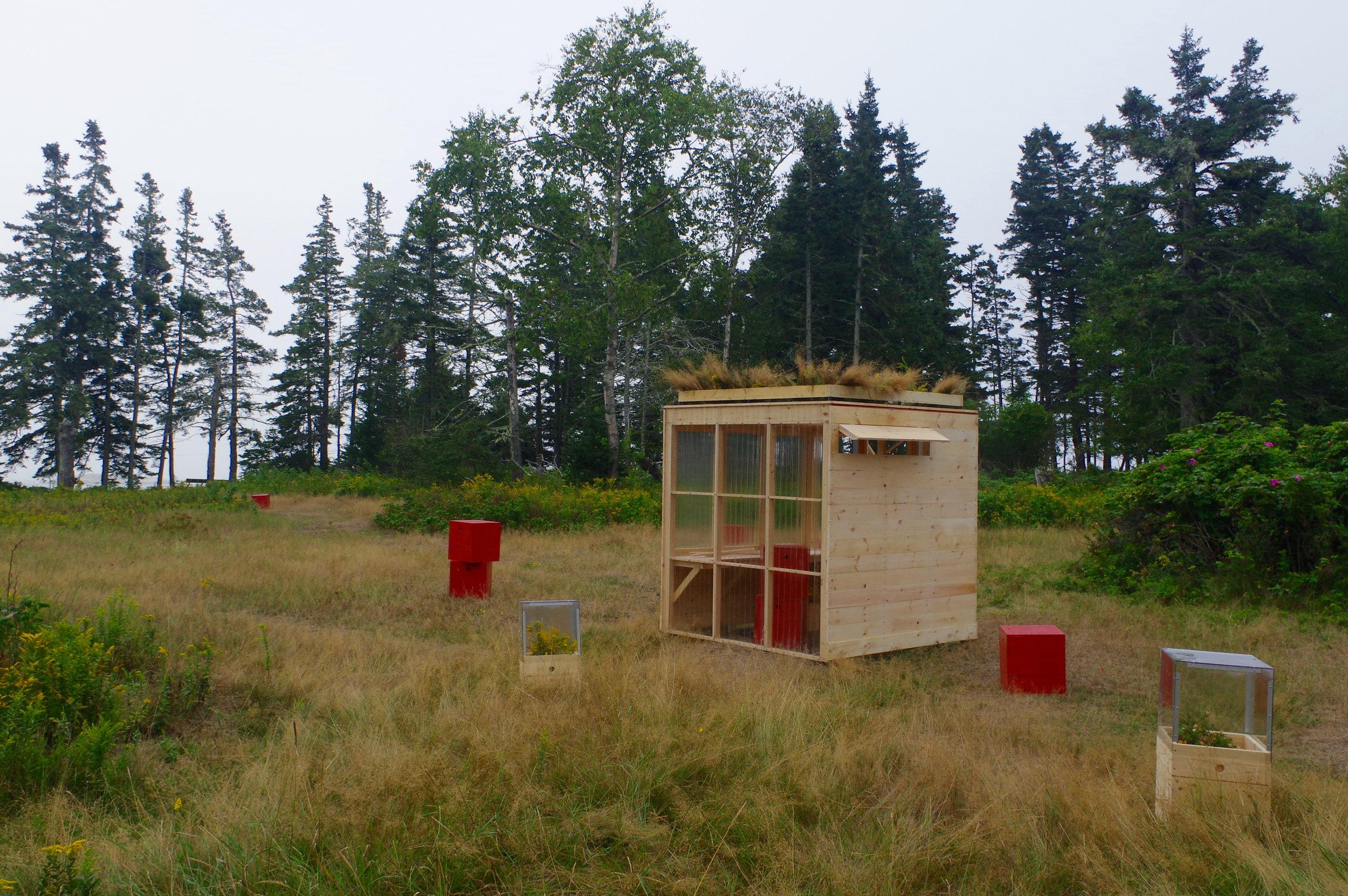 Vinalhaven Island School Greenhouse - 2016