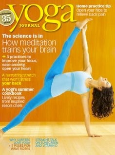Yoga Journal USA - June 2010