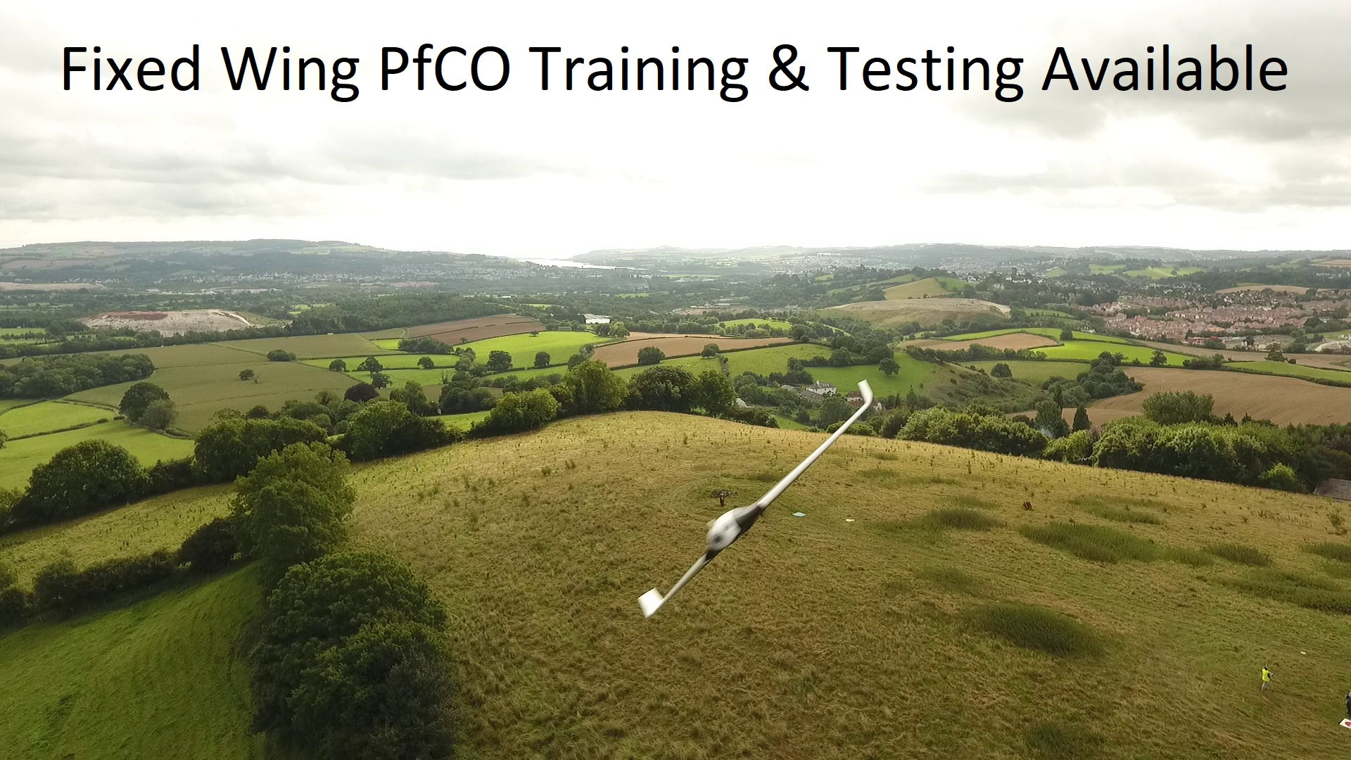Fixed Wing Training Commercial Drone Training