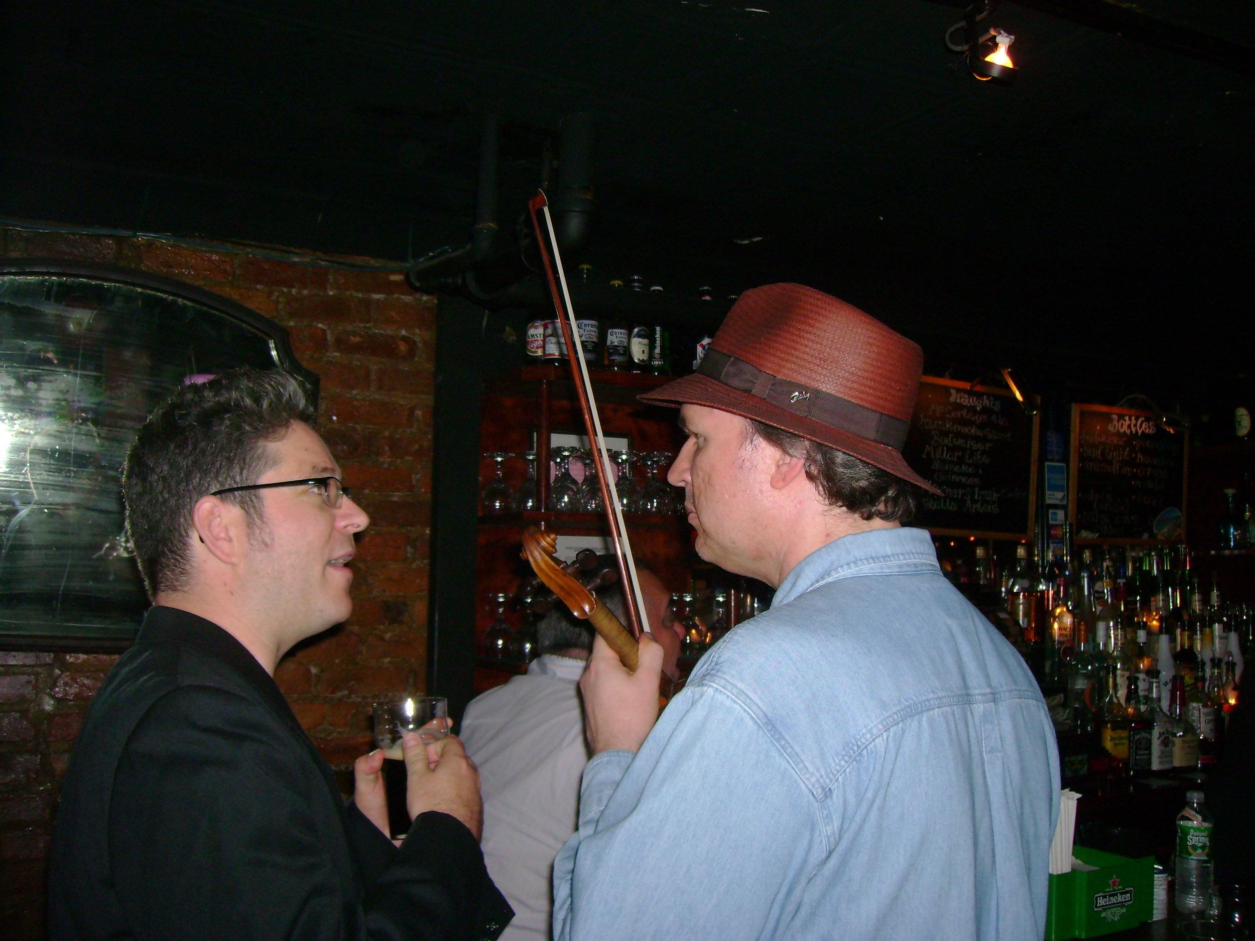 NYC, 2008 W/Mark O'Connor