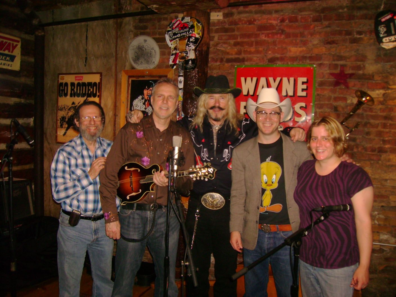 NYC, 2008 Rodeo Bar w/ Alan Cohen, Mark Farrell, & Melody Allegra