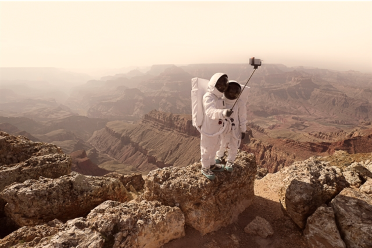 Greetings from Mars by Julien Muave