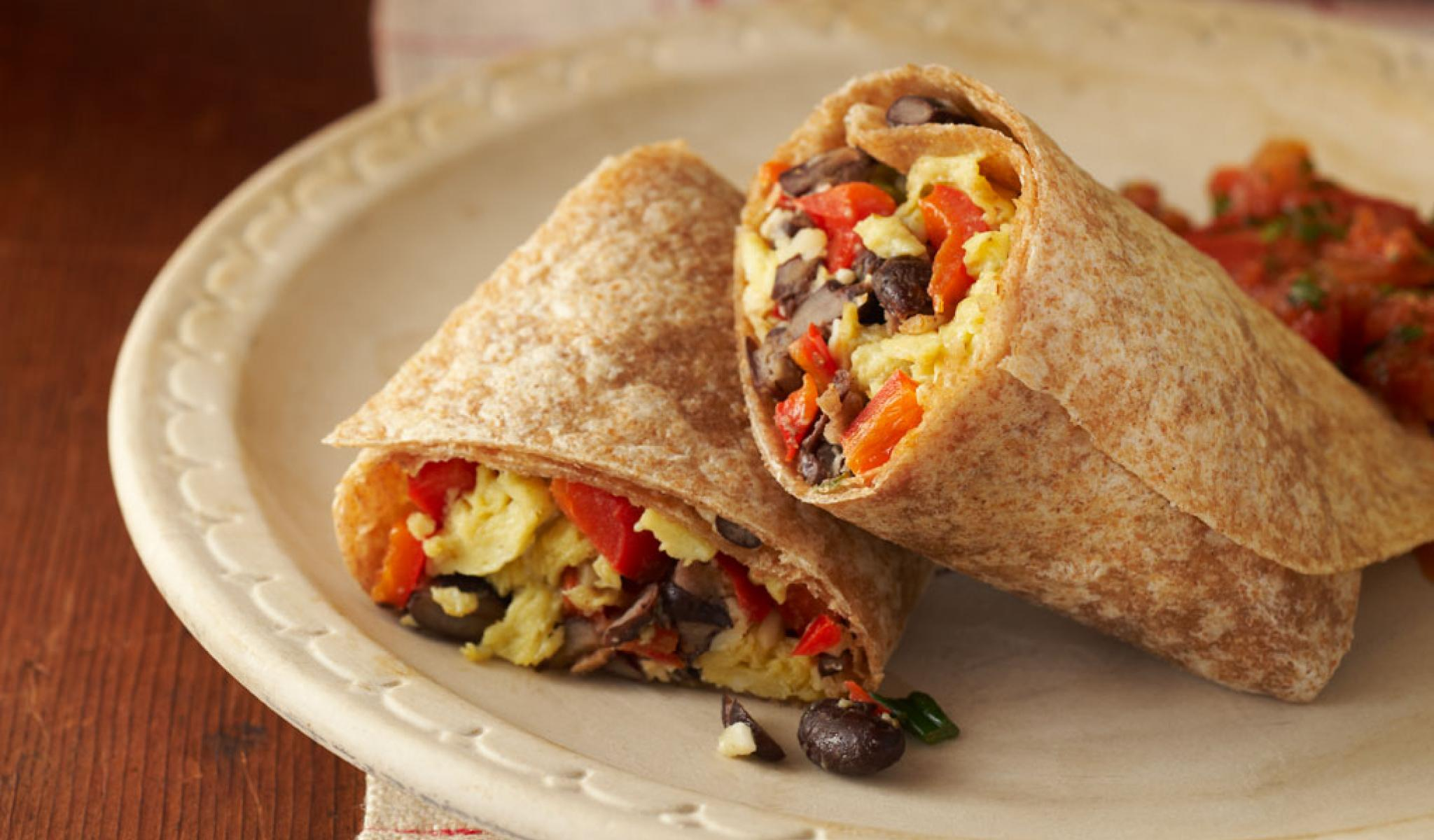 Hearty Egg Burritos      These filling burritos are perfect for any meal