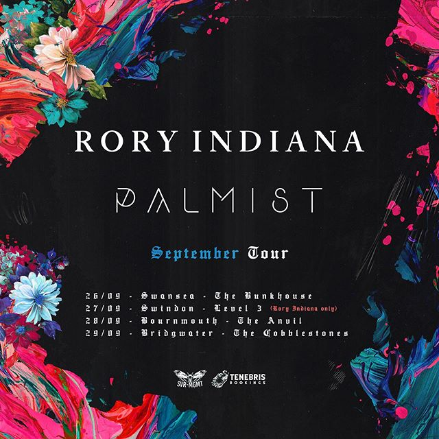 𝐒𝐄𝐏𝐓𝐄𝐌𝐁𝐄𝐑 Remember us? We're hitting the road doing some select dates with the awesome @palmistband  See you soon 💥