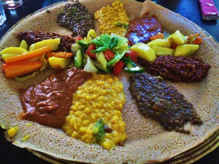 Zeret Kitchen -  Vegetarian Selection