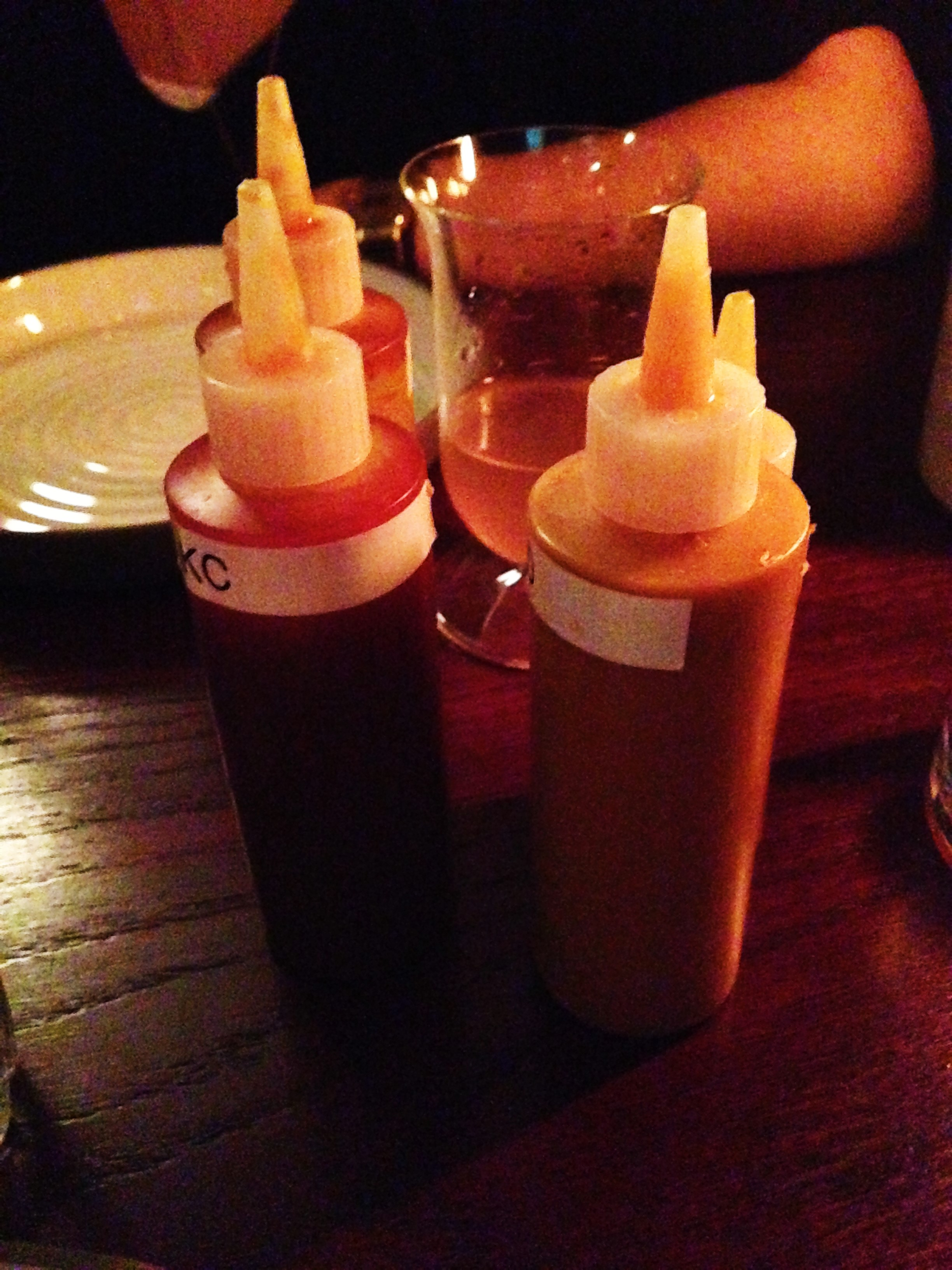 BBQ Sauces at Shotgun London