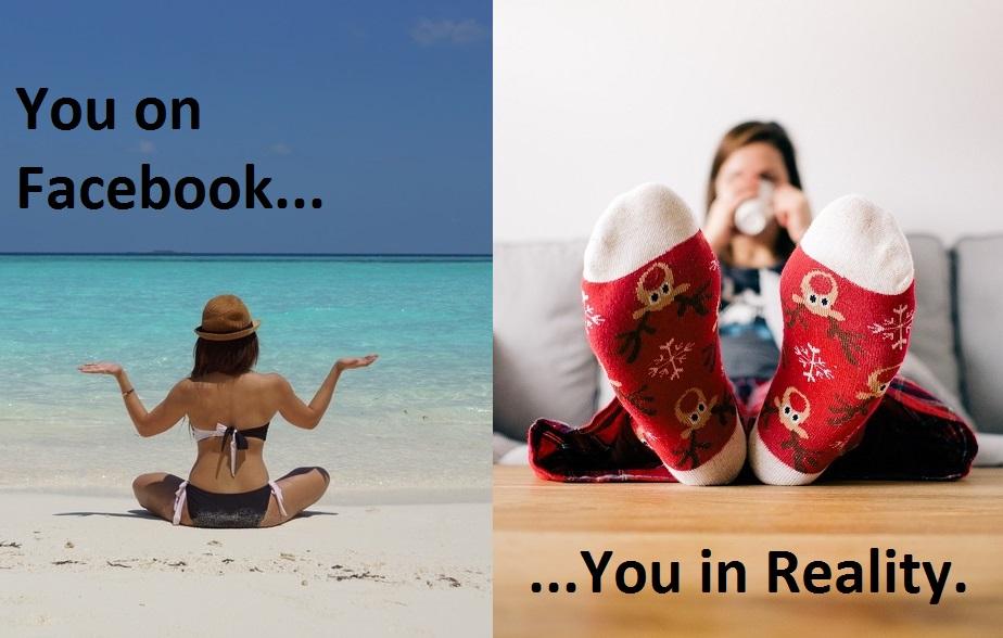 Idealised identities on social media