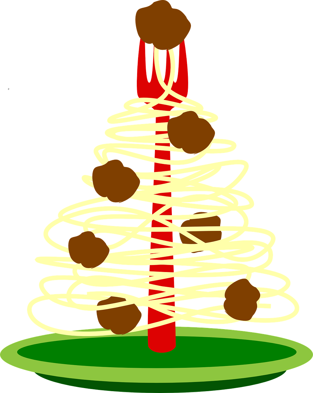Epicures love Christmas spaghetti