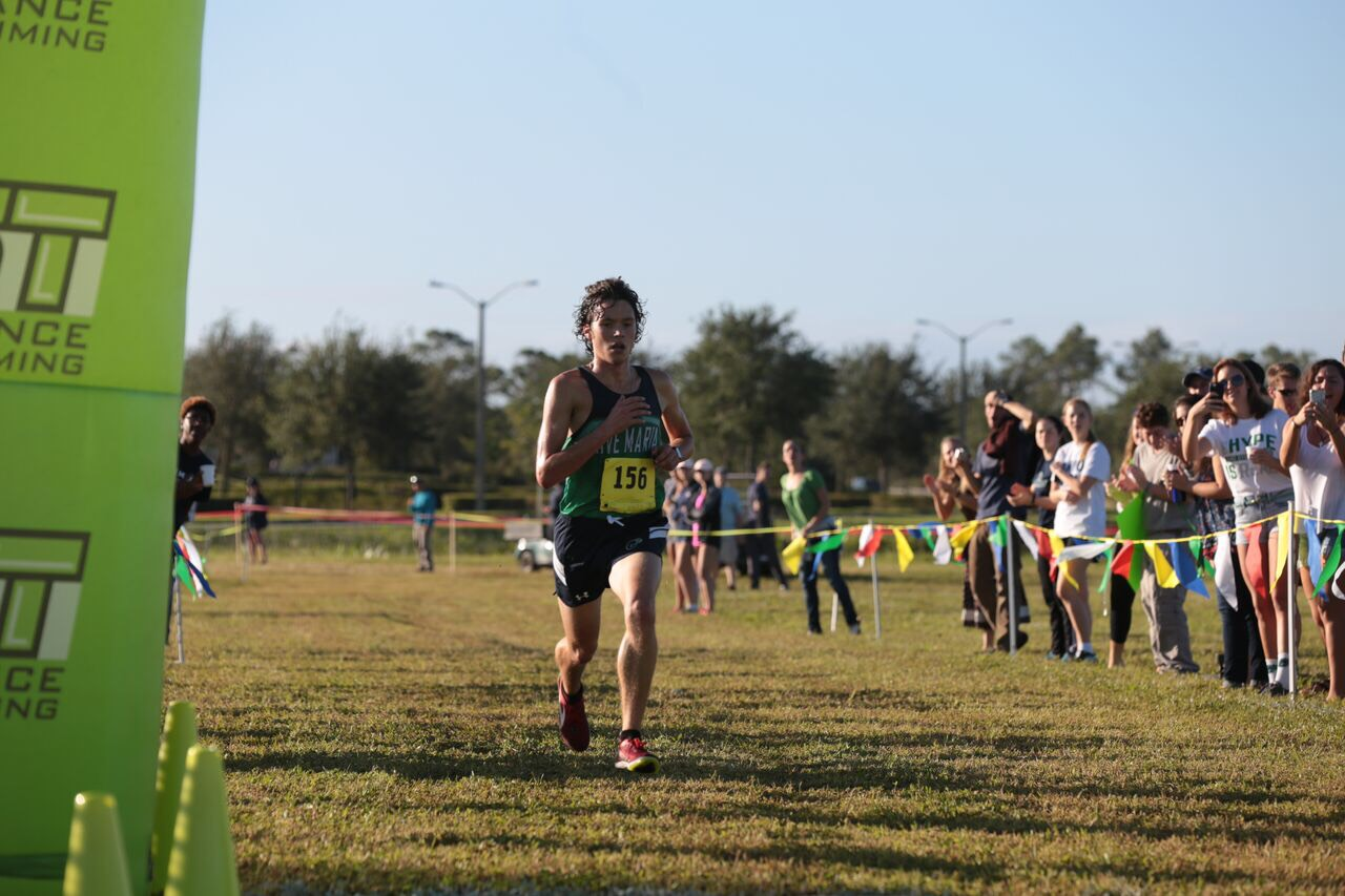 Gabe Hogan during the Sun Conference Championships hosted by Ave Maria on November 4, 2017