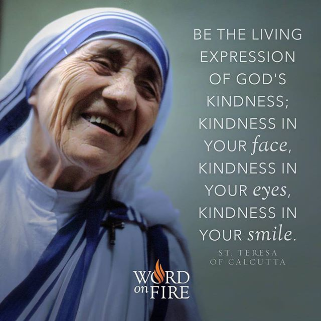 Happy feast day of St. Teresa of Calcutta! Donuts will be served by the MT hall this morning starting at 9!