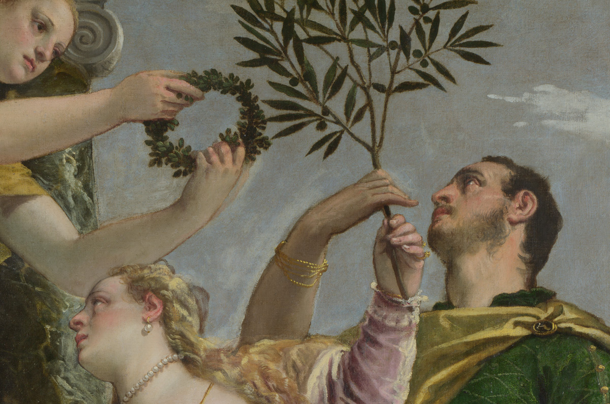 Paolo veronese,  Four Allegories of Love (detail), about 1575