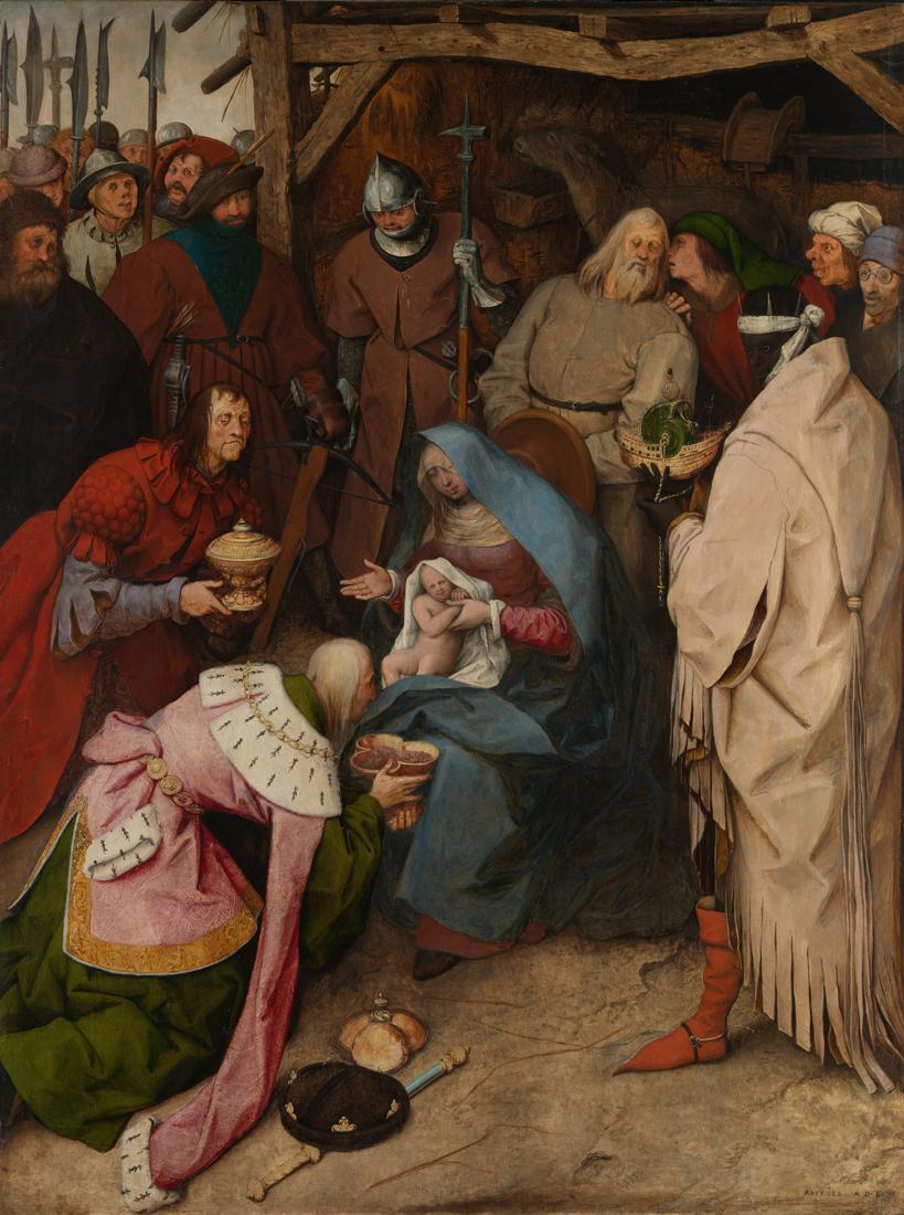 Pieter Bruegel the Elder, 'The Adoration of the Kings', 1564