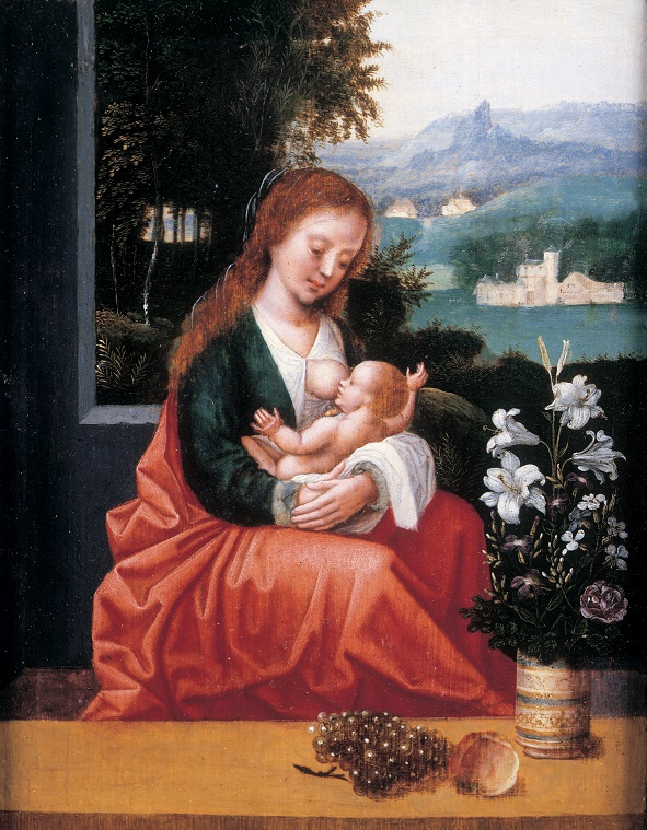 Ambrosius Benson,  The Virgin and Child , about 1518-50 © Compton Verney