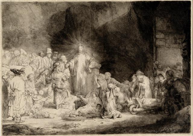"""Rembrandt van Rijn, """"The Hundred Guilder Print"""", c. 1649 © Leeds Museums and Galleries.jpg"""