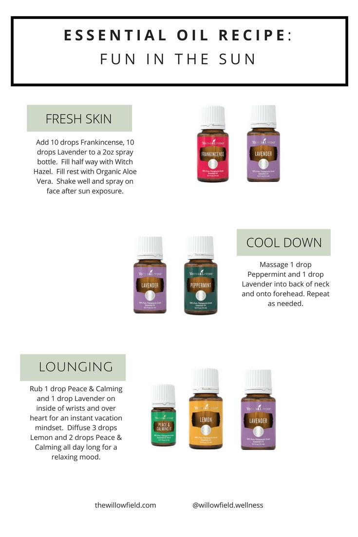 essential oil recipe_fun in the sun