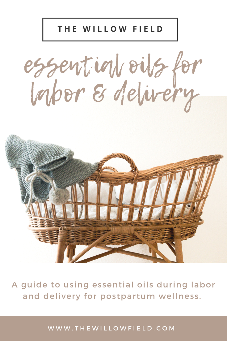 essential oils labor and delivery