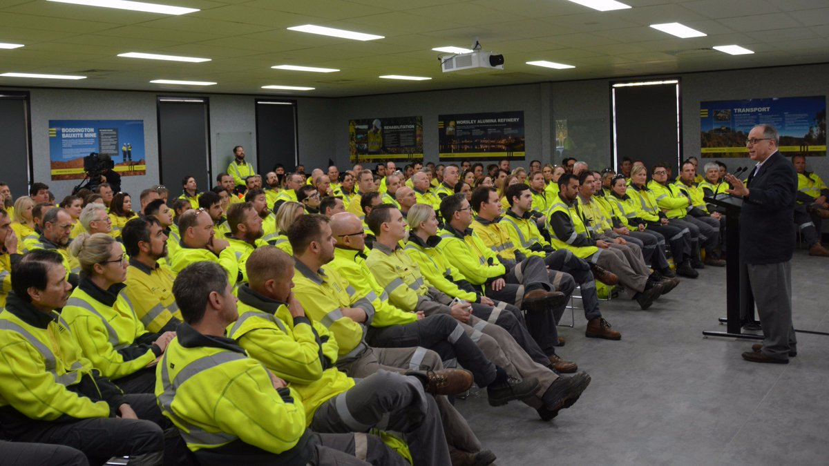 Dr. Michael Kimmel toured New Zealand and Australia this past August.  Plans are in the works to return to Australia next year.  Pictured above is Dr. Kimmel speaking to employees at the South32 Mining Company in Worsley, Western Australia.  Thank you to the wonderful folks there for your hospitality.