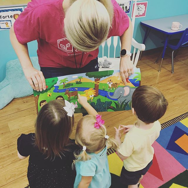 This week our students learned about creation. We are so thankful for each precious preschooler He formed with His loving hand!