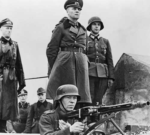 Rommel understood the strategic importance of reserves. Fortunately, Hitler did not.