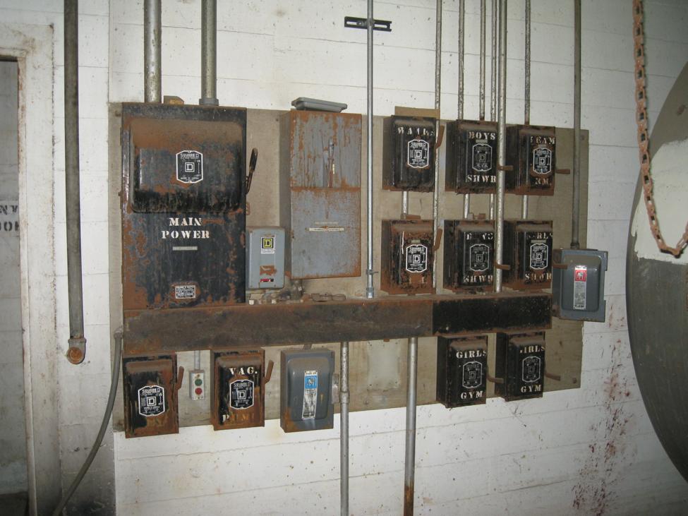 The original 1930's Equipment Room